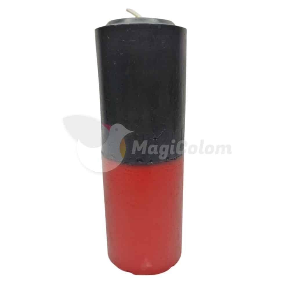 Velón Rojo Negro Especial Esotérico