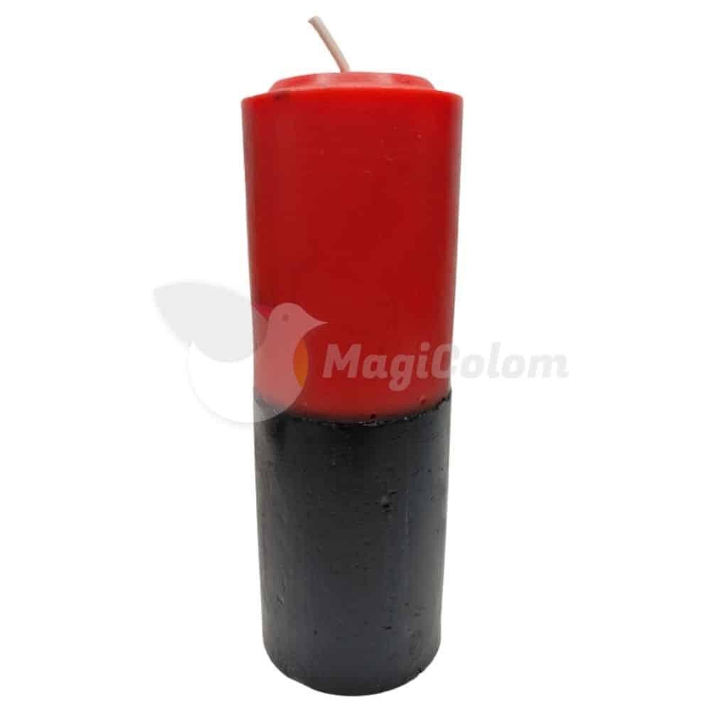 Velón Negro Rojo Especial Esotérico
