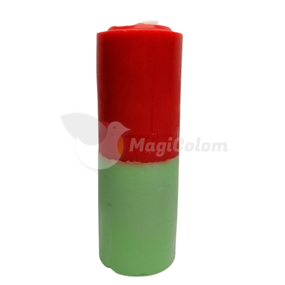 Velón Verde Rojo Especial Esotérico